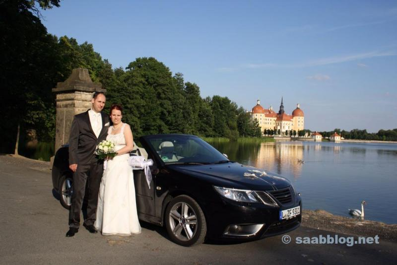 Hochzeits-Saab. Bericht von Martin.