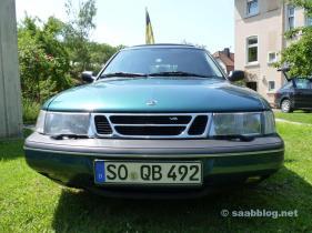 La historia de Saab de Markus. Saab 900 II. Desafortunadamente no está listo para funcionar en este momento.