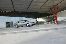 Saab 9-5 I. Pelo menos 20% mais seguro que a média.