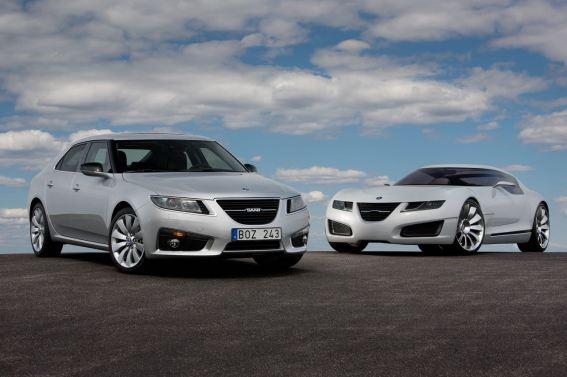 Aero X und Saab 9-5 NG