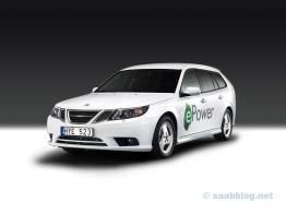 Concept e-Power Saab 9-3