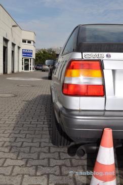 Saab 9000 CC Turbo. Weniger als 80.000 Kilometer.