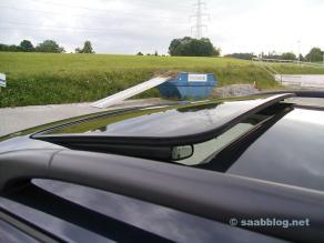 Saab 9-5 chrome frame