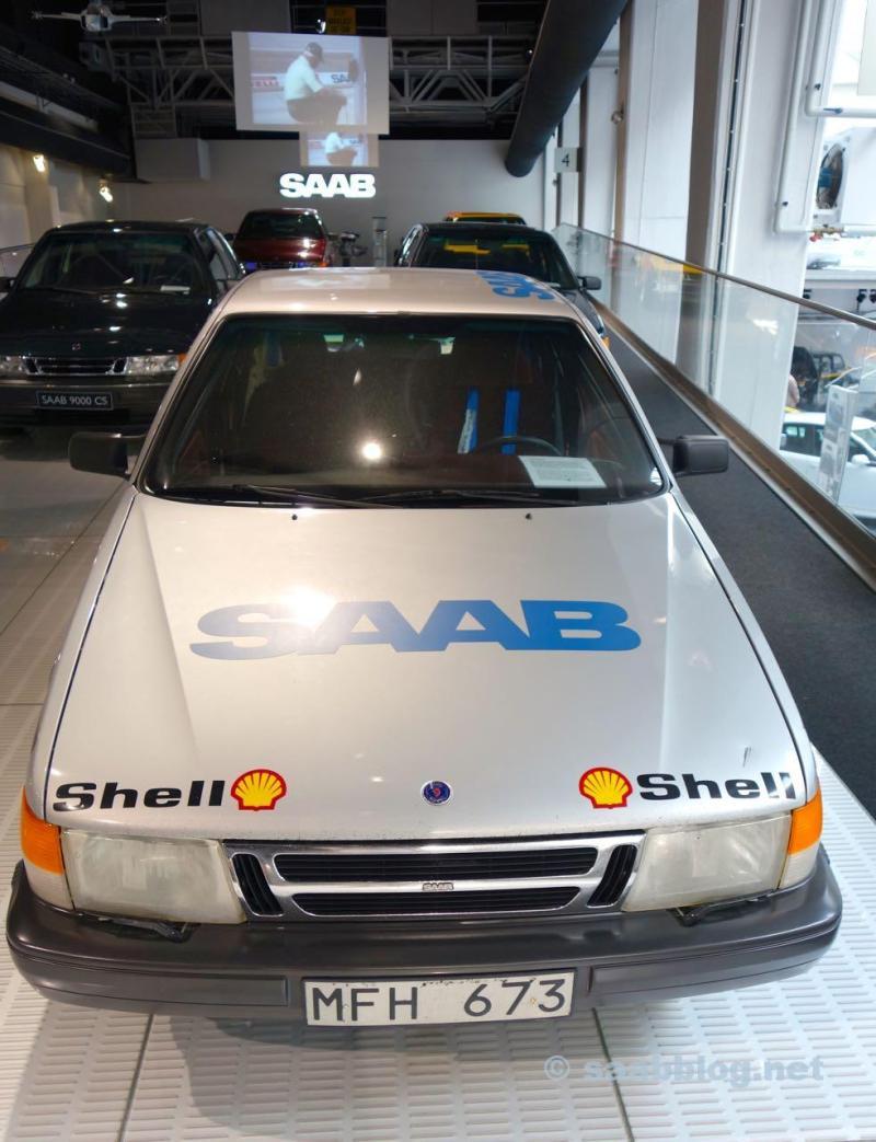 Saab 9000 Talladega im Saab Bil Museum