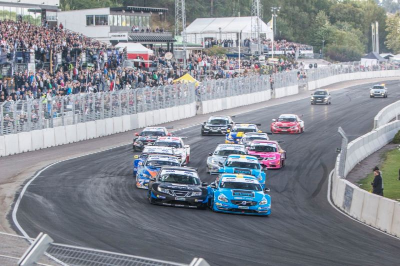 L'STCC gestisce Solvalla. Immagine: Cyan Racing