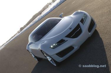 Saab Aero X - carro dos sonhos de Trollhattan