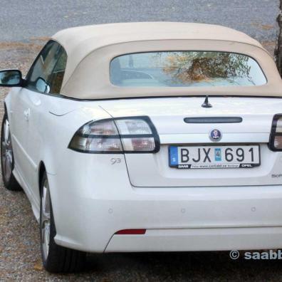 MY08 SAAB 9-3 Vector Cabriolet