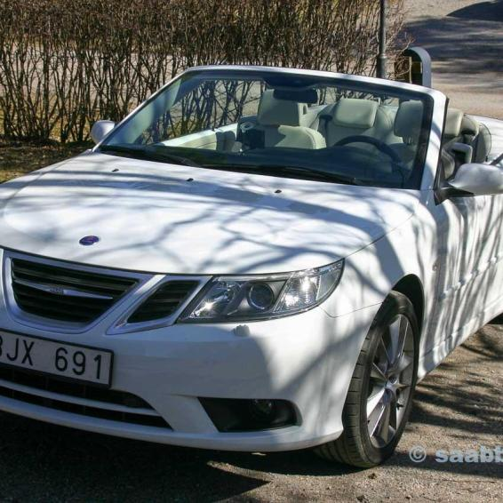 The MY08 SAAB 9-3 Vector Cabriolet