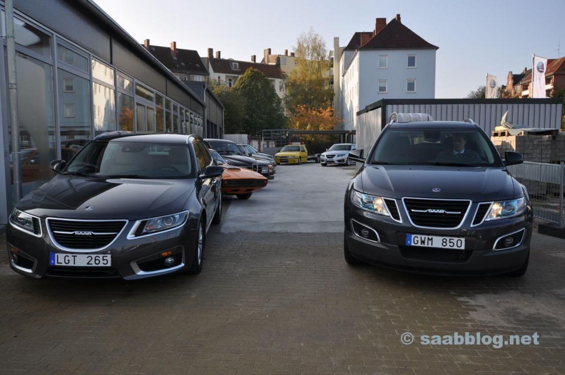 Saab Händlertour 2011 - Saab Zentrum Kiel
