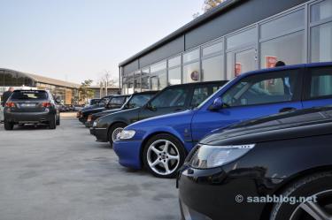 Tour do negociante Saab 2011 - Saab center Kiel