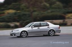 Särskilt säkert: Saab 9-5 från 2005.