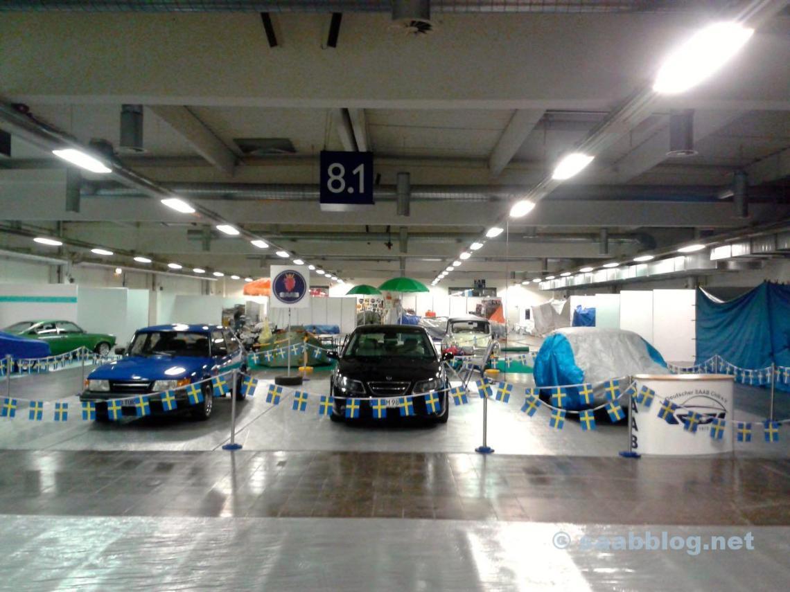 Saab Stand, Essen Motor Show 2015