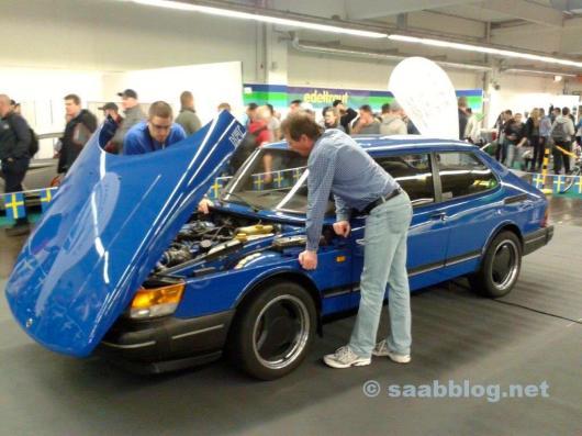 Saab auf der Essen Motorshow 2015