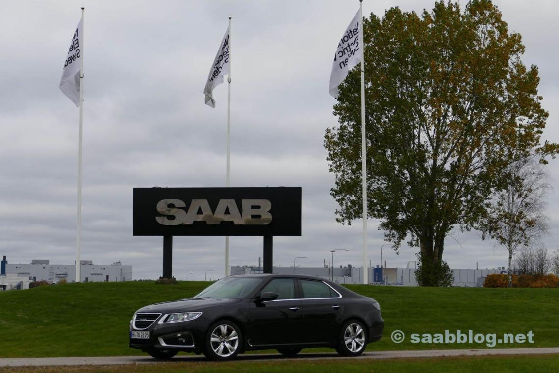 Tour sueco com o Saab 9-5.