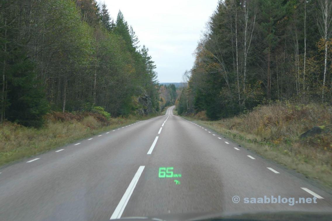 No caminho pela Suécia.