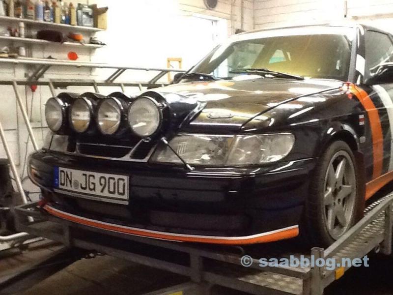 Saab R900 - pronto per il Koeln-Ahrweiler