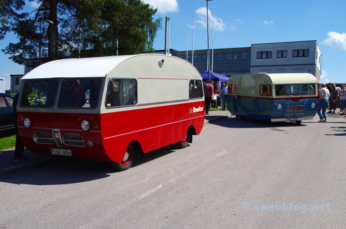 Saab Wohmobile. Saab Festival 2013.