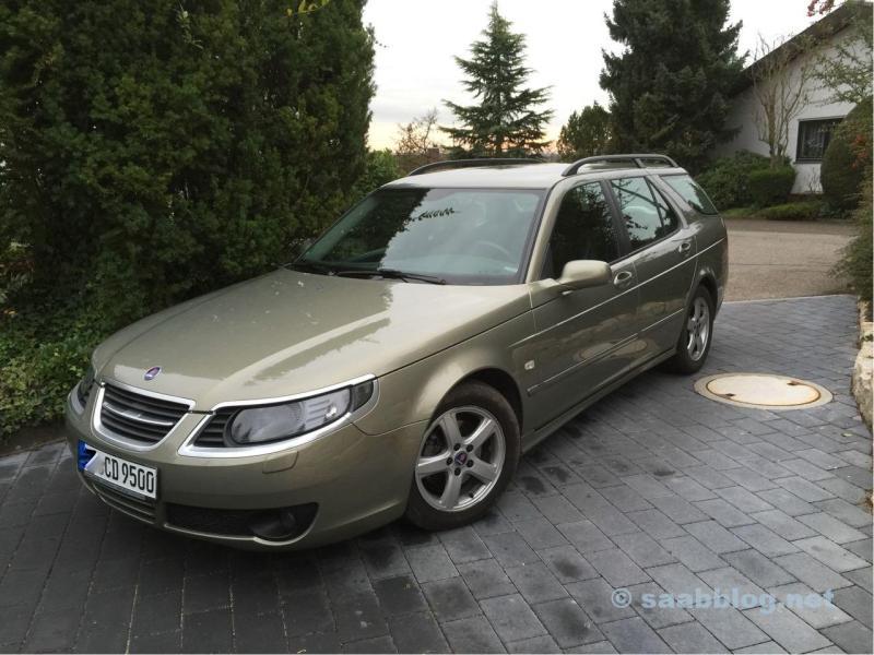 """Saab 1.9 TID """"Pfeffergrün"""""""
