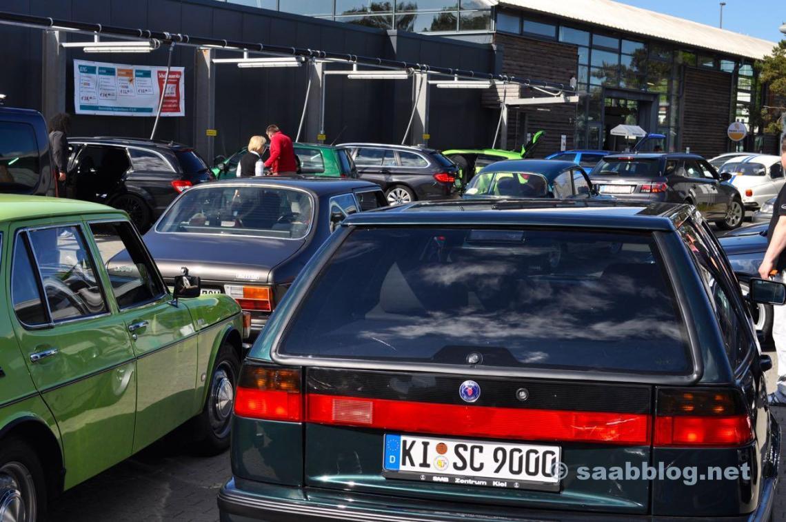 Saab Festival Pre-Tour Kiel Trollhattan 2015