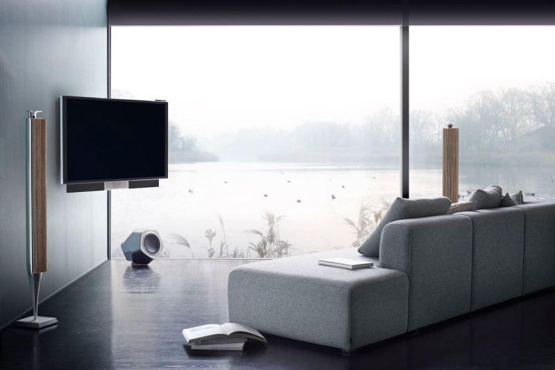 Beo Vision Avant UHD 4K TV. Bild: B & O