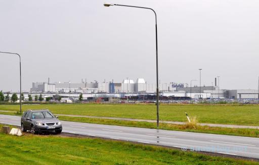 2010. Trollhättan. Saab fabrik