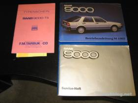 9000 Turbo 1985, inbyggd litteratur