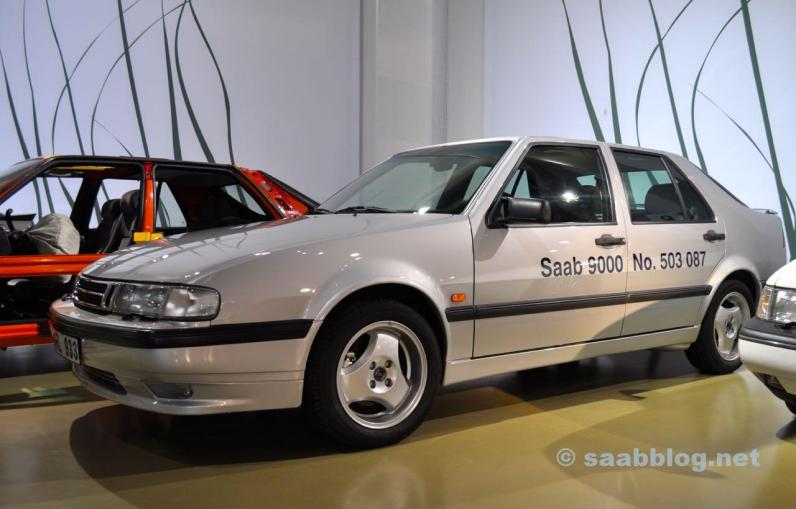 L'ultima Saab 9000 costruita nel Bilmuseum