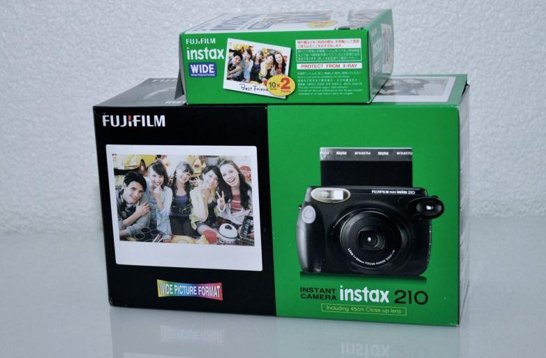 Аналог отличный. Fuji мгновенная камера для нашего projectaab.