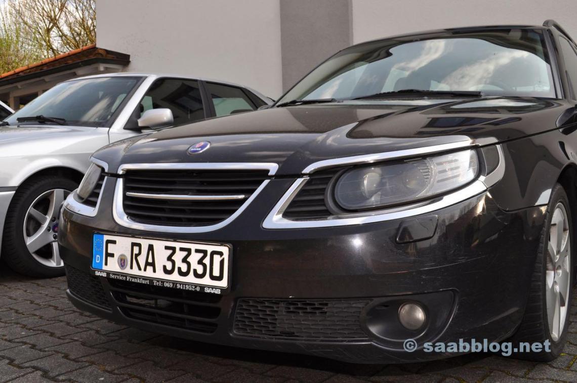 Saab 9-5 Aero из Saab Frankfurt