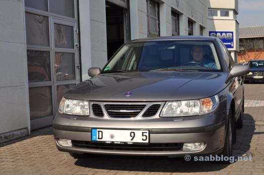 Saab 9-5 2.3t Arc at Saab Service Frankfurt
