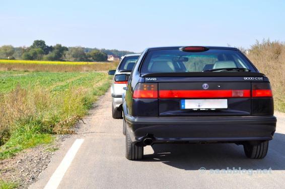 Saab 9000 CSE 2.0t, Anniversary и 9000 CSE 2.3t Anniversary, как 30.03.1998.