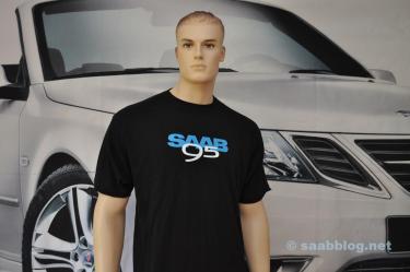 Футболка Saab 9-5 от нашего фанатского магазина