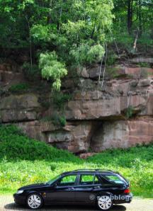 ساب شنومكس-شنومكس بول أمام تشكيل الحجر الرملي الفدرالي