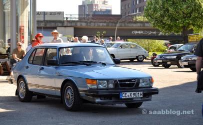 1. Hamburg Saab ontmoeting, Brandshof.