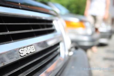 Impressões saem amigos Saab Saxony 2016