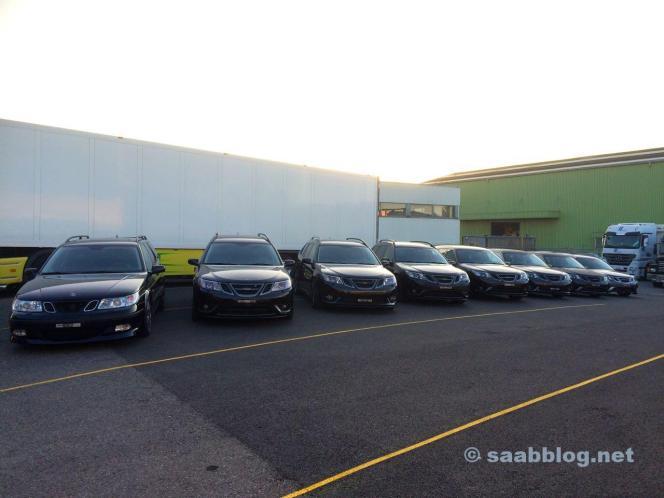 Saab Sammlung von Ivo