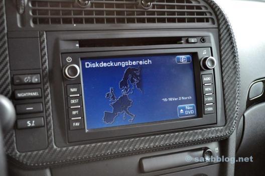 Navi DVD på Audi-basen i testet.