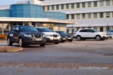 Hauptportal, Saab Fabrik, Oktober 2011