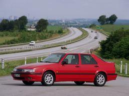 Saab 9000. Den innovativa. Det coolaste svenska bidraget till överklassen. Bild: Saab bilar