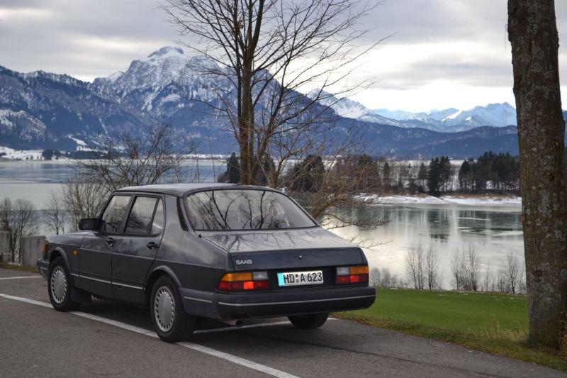 Saab 900 Sedan. Bild: Dietmar Erhard