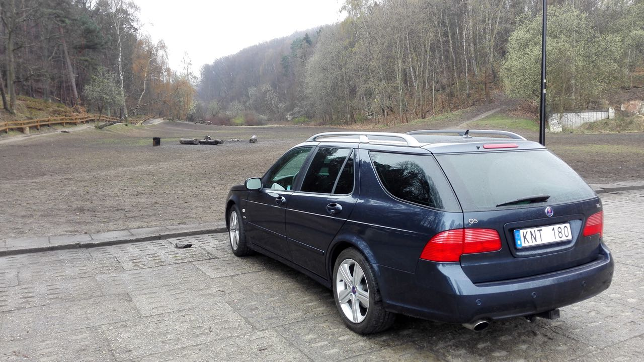 Out And About In The Saab 9 5 Vector Griffin Saabblognet Fuel Filters Tid Image Andt Mitwer