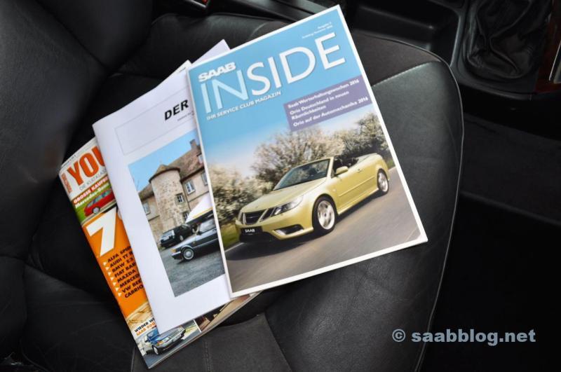 Saab Inside, le 96, Youngtimer de Motor Klassik