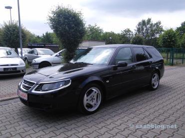 Saab 9-5 nova entrada