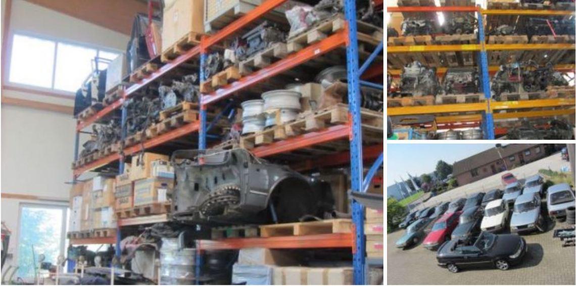 Depuração do armazém em Wedde