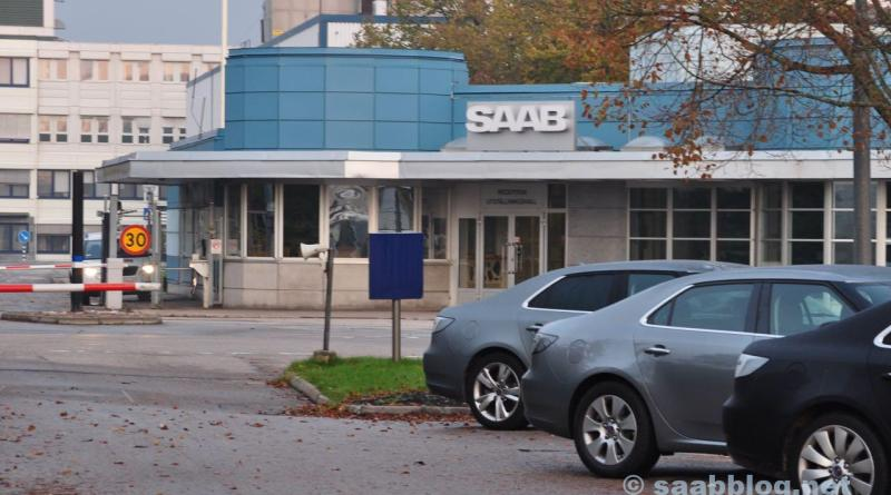 Saab factory main portal. Autumn 2011.