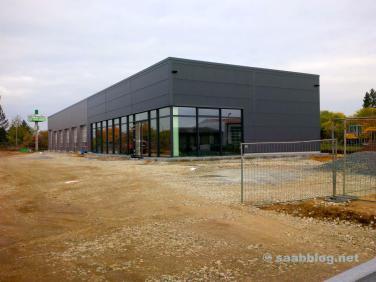 Saab-Subaru-Neubau in Bamberg