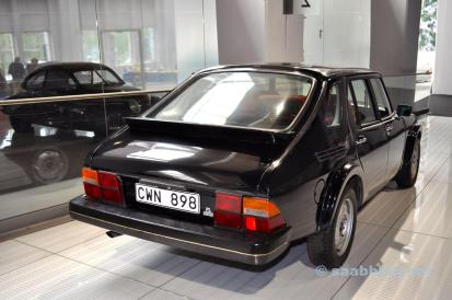"""Proyecto Cecilia. Saab 9000 """"Mula"""" en el Museo Saab."""