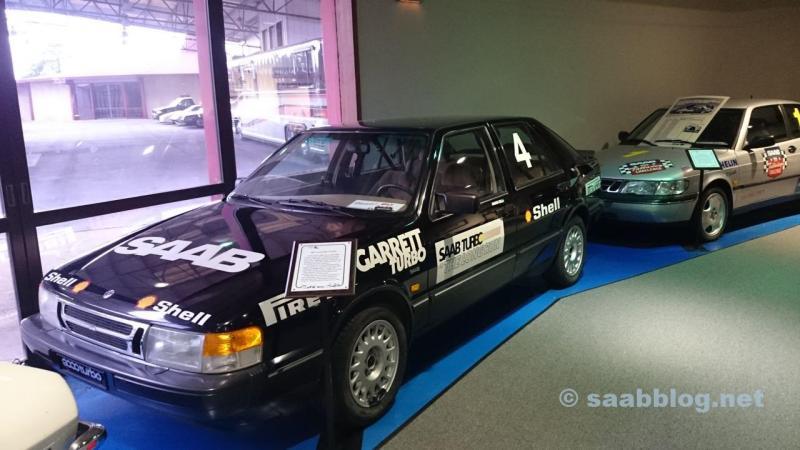 Saab 9000 im Talladega Museum