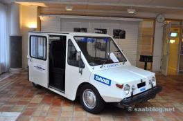 Saab Ebilen en el Centro Técnico de NEVS