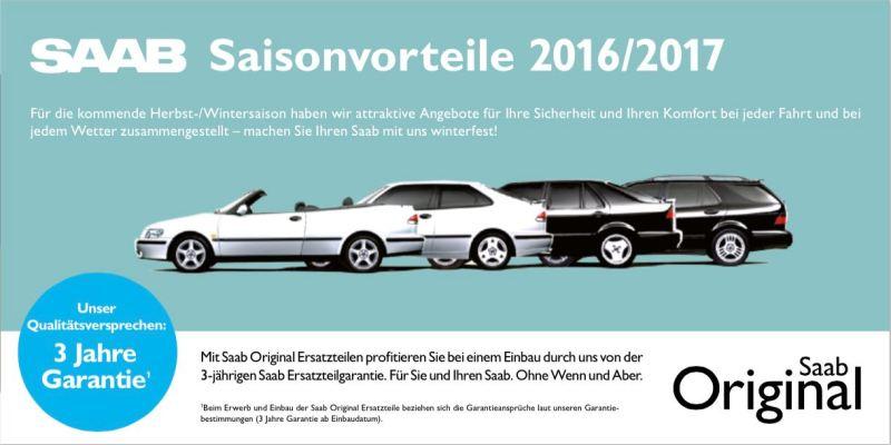 Saab Saisonvorteile